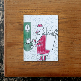 サヴィニャックのクリスマスカード