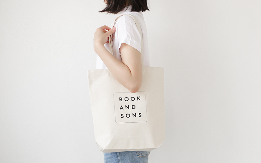 BOOK AND SONS TOTE BAG