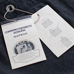 Original apron by COMMONOreproducts