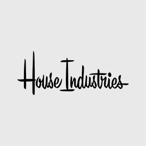TYPOSERIGRAPHIC: BOOK AND SONS PRESENTS THE ART OF HOUSE INDUSTRIES.